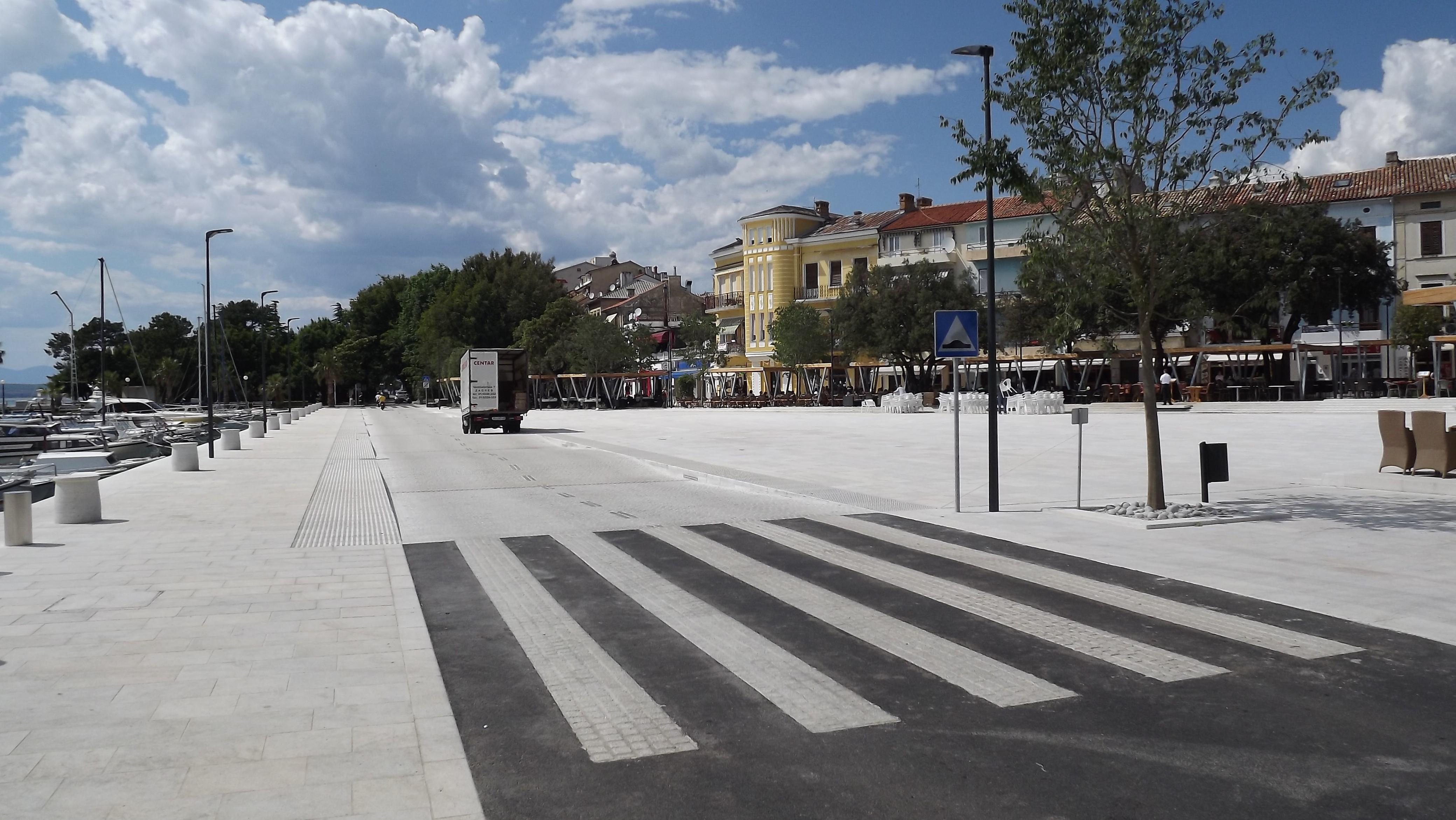Trg Stjepana Radica Crikvenica 2013